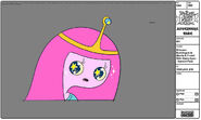 Modelsheet princessbubblegum inshortstshirt withstarryeyes - specialpose