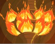 City Heart on fire