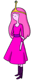 Princess bubblegum in dress special alarm color