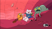 S1e12 Finn and Jake Shocked