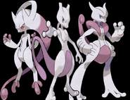 Pokemon mewtwo x and y mega evolution by dbzgamerkingcold-d6mje50