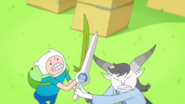 Two Swords - Grass Sword Vs. Finn Sword