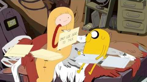 Adventure Time - Shh 【short preview】