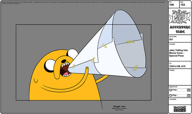 File:Modelsheet jake yellingintomoviecone - specialpose.jpg