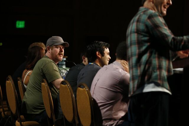 File:Adventure Time Panel at SDCC14 15.JPG