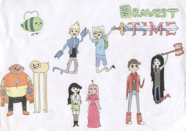 File:Bravest warriors and adventure time by ma mona-d5qnm36.jpg