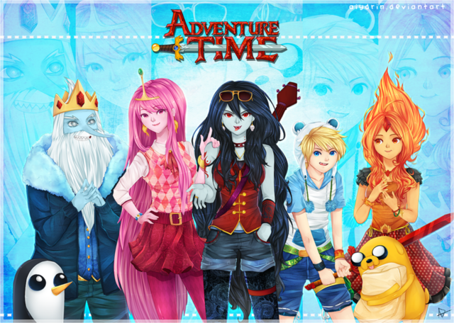 File:Adventure Time Anime.png