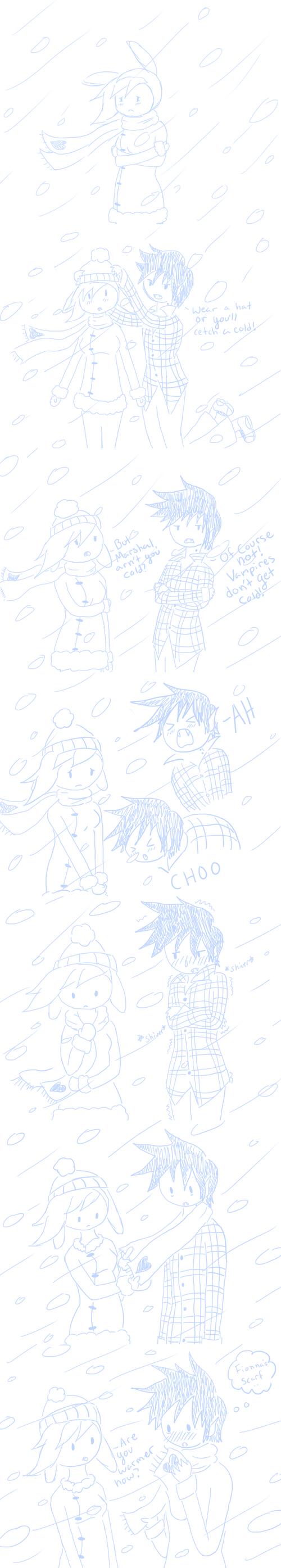 Snow comic