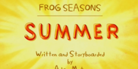 Frog Seasons: Summer