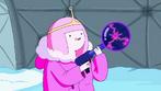 S4 E19 Princess Bubblegum holding electro-gun