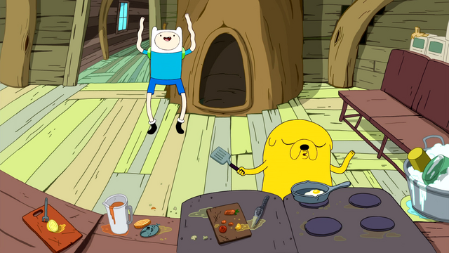 File:S3e1 Jake beatboxing and Finn dancing.png