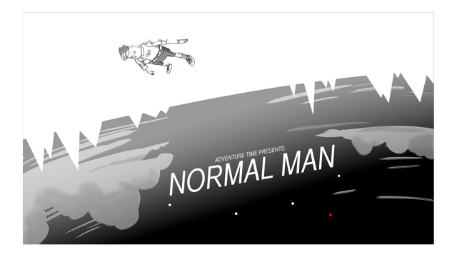 File:Normal Man Title Card Design.png