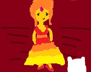 Flame Princess Gumbdrop Ball