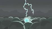 S4 E23 Jake getting struck by a lightning