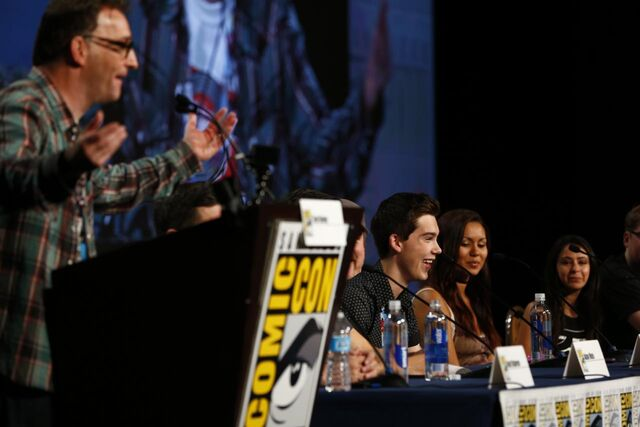 File:Adventure Time Panel at SDCC14 4.JPG