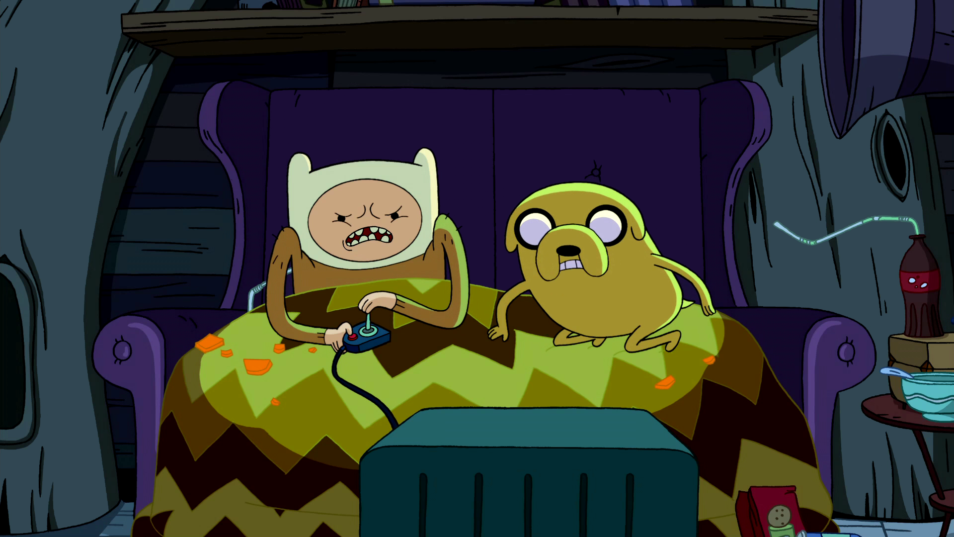 File:S2e16 Jake watching Finn play the game.png