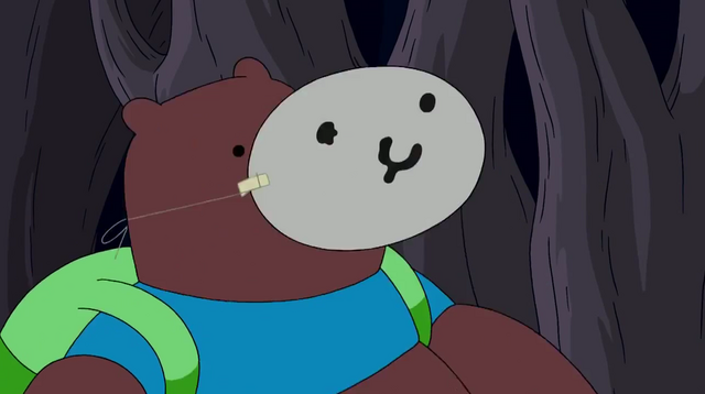File:S4 E7 Bear disguised as Finn.png