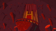 Ignition Point Flame King's chair background