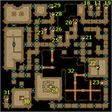 Isle of Prisoners, Tomb maps level 3