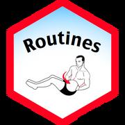 Routines Badge