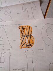 B Letters SDADV