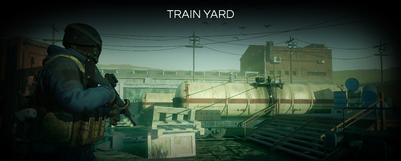 Train Yard Map