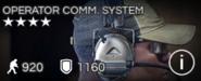 Operator Comm