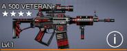 A 500 Veteran 4 star
