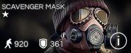 Scavenger Mask