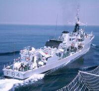 HMS Exmouth (F84)