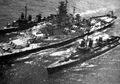 APNS Commune of Worcester (BB-59) refueling destroyers.jpg
