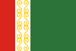 Chechnya Flag Small