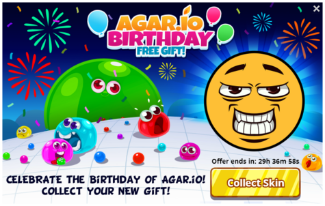 Agario-birthday-free-gift-offer