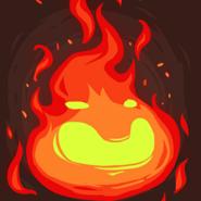 Stone age fire face hi