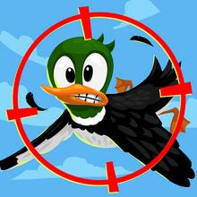 Duck-target
