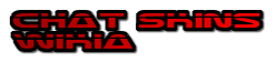 File:Chat Skins Wikia Logo Wordmark Size 3.png