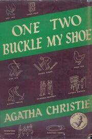 One Two Buckle My Shoe First Edition Cover 1940