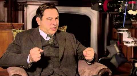 David Walliams and Jessica Raine on playing Tommy and Tuppence