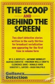 The Scoop and Behind the Screen First Edition Cover 1983