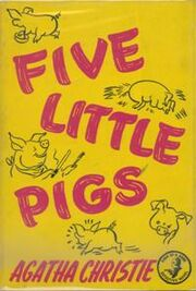 Five Little Pigs First Edition Cover 1943