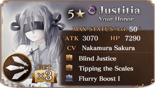Twilight Coliseum Justitia Reward