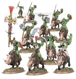 Boarboys Bonesplitterz Orruks Miniatures