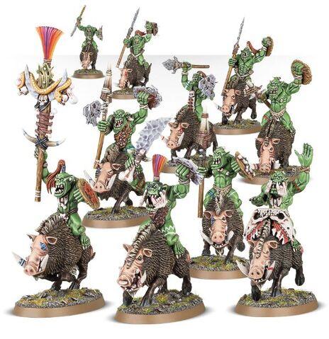 File:Boarboys Bonesplitterz Orruks Miniatures.jpg