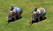 Battle Elephant and Elite