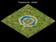 Atlantis forgotten city