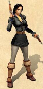Lizzie the pirate