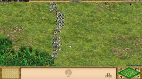 Age of Empires II- Rise Of The Rajas - -16 Border Stones - Special Map