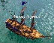 AoE3 Naval Victory