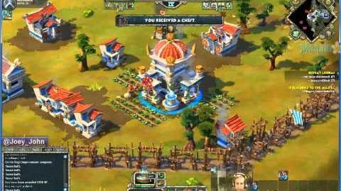 Age Of Empires Online Walkthrough - Pt.181 Greek - Defeat Ledrai (III)