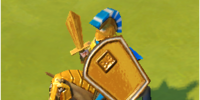 Ares' War Shield